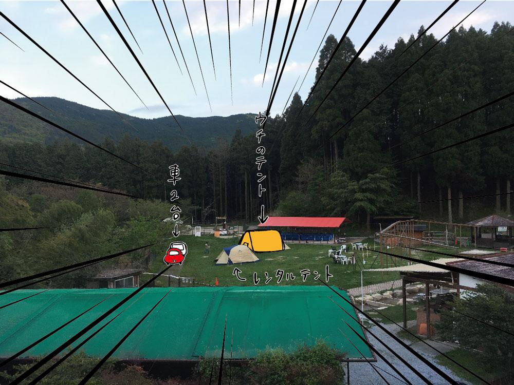 ピクニカ共和国 キャンプ