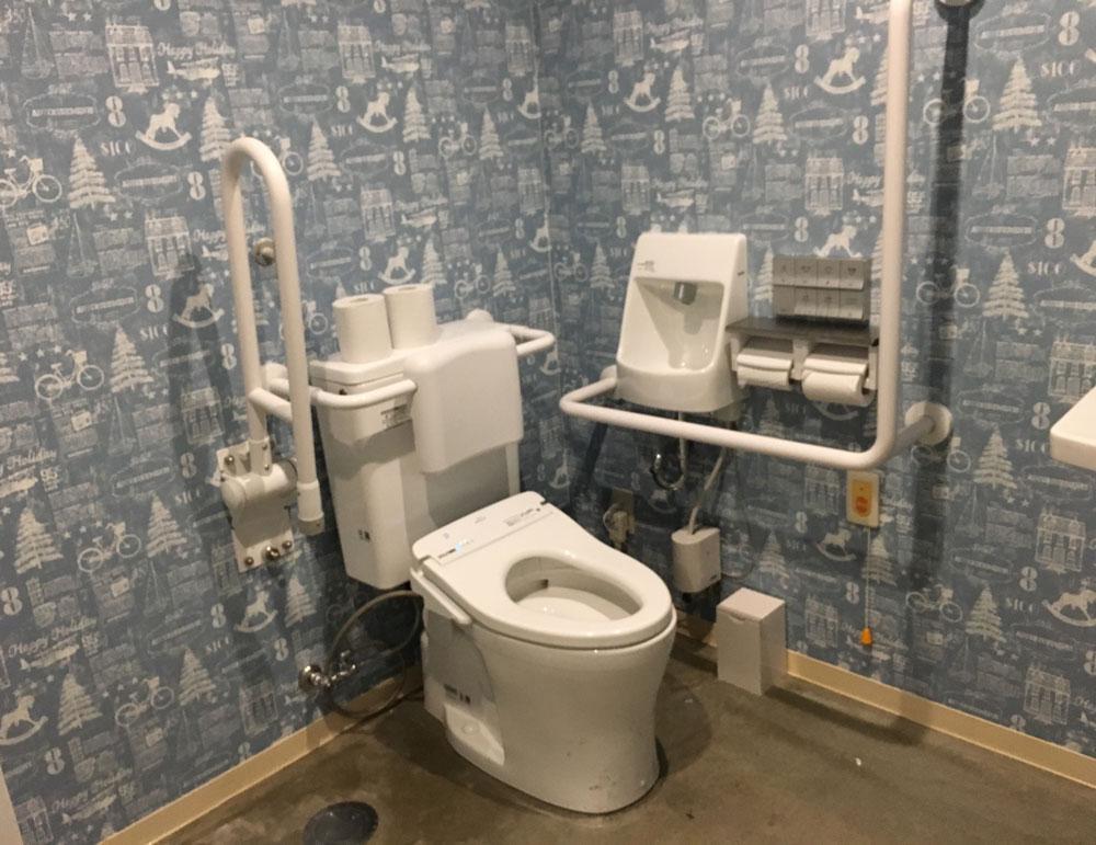 キレイなトイレ キャンプ