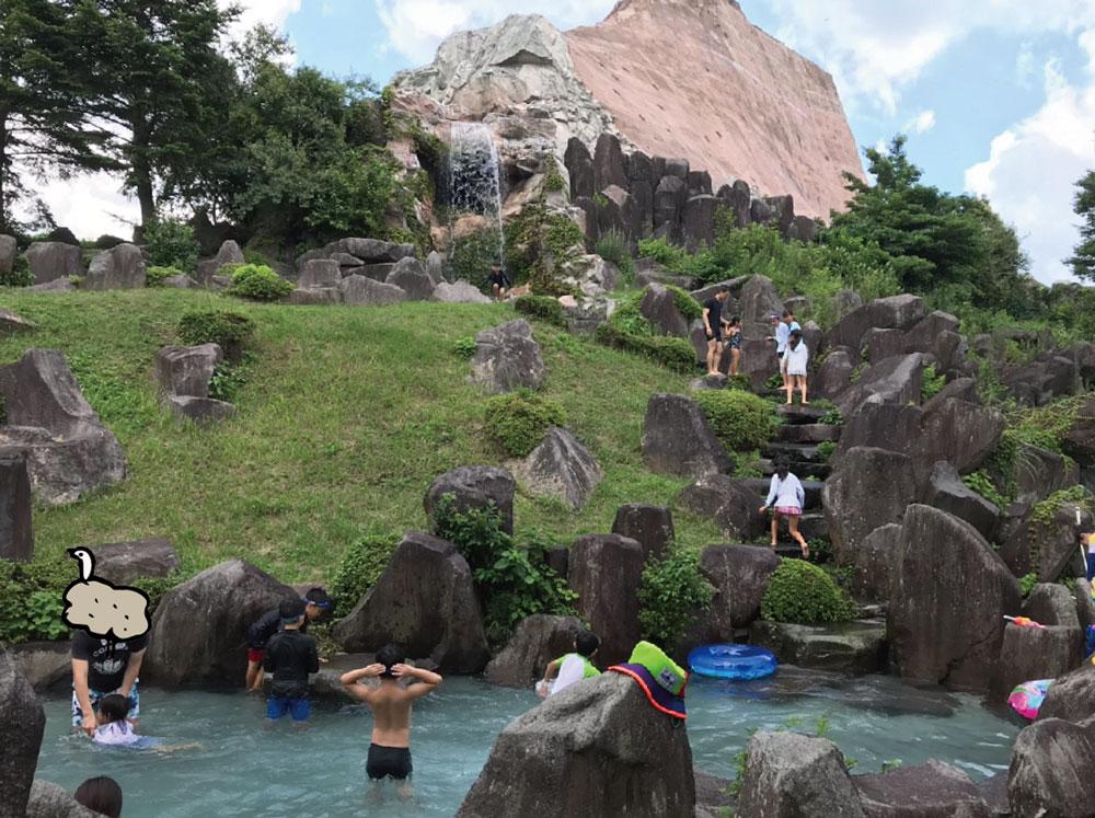 アフリカンサファリ水遊び