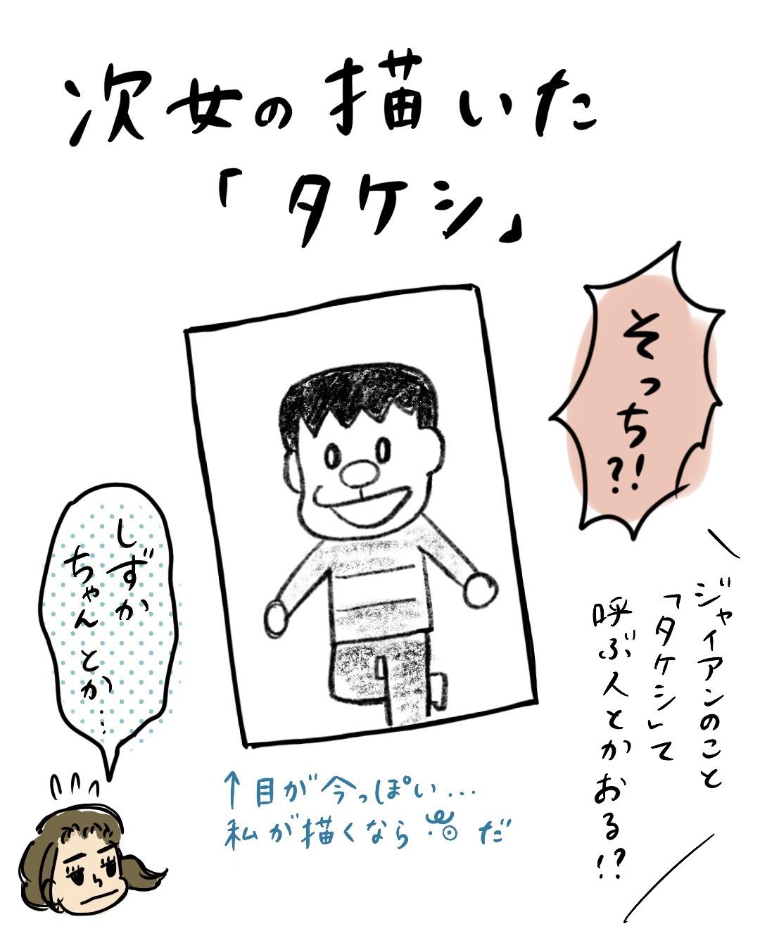ジャイアンのイラスト